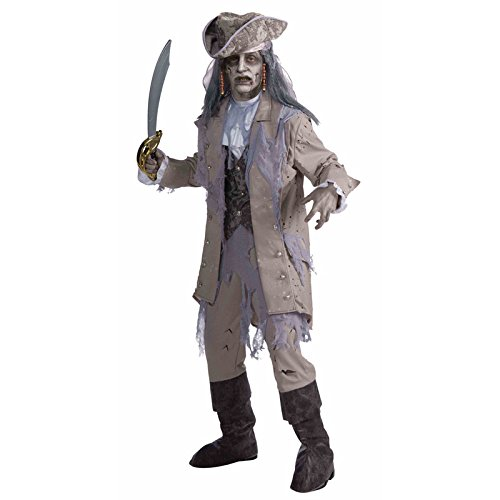 Zombie Pirate Adult Costume - Standard