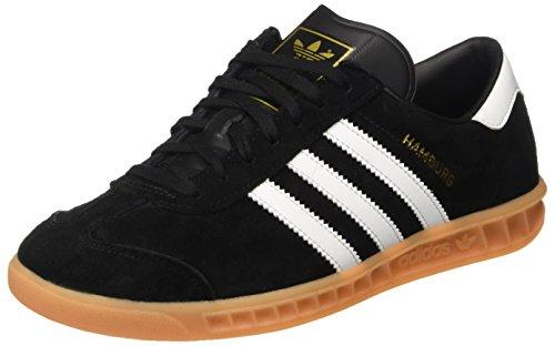 Hamburg Black Varios Colores Ftwr Zapatillas Gum Adidas Hombre para Core White p0d7wA