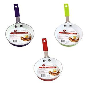 Good Living 3.5-Inch Fast-Heating Aluminum Single-Egg Pan