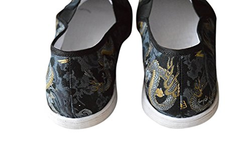 Cotton Marciales HandSound Hand Shoes Cover 405 Sew gratuita Kung Rubber Fu Artes Sole Sole Cojín Deluxe Tai Chi Soft Revista q0wpaZxEX