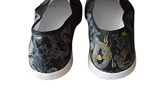 Deluxe Tai Soft Rubber gratuita Chi Artes 405 HandSound Sole Cover Sole Fu Marciales Revista Cotton Cojín Shoes Sew Kung Hand wnxY4fqv
