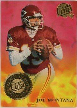 Joe Montana San Francisco 49ers 1994 Ultra Achievement Awards #4 Football Card