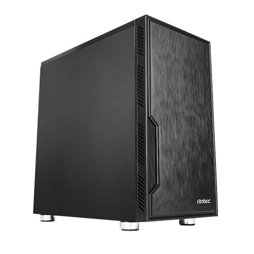 Antec Value Solution Series VSK10, Highly Functional Micro-ATX Case, 280 mm Radiator Support, 4 X 140 mm Fans Support