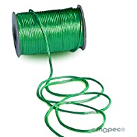 Mopec S462.26 Cordón Cola ratón, Verde tapete, 2.5