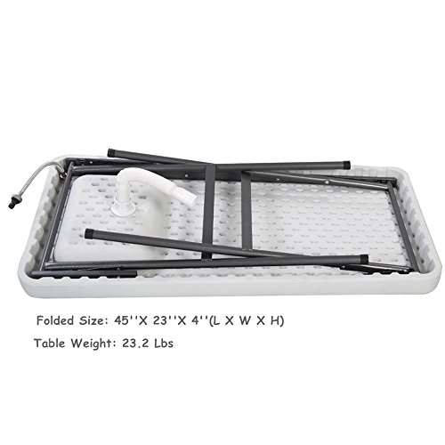 Folding Portable Fish Hunting Cleaning Cutting Table Camping Sink Faucet TKT-11 by TKT-11 (Image #8)