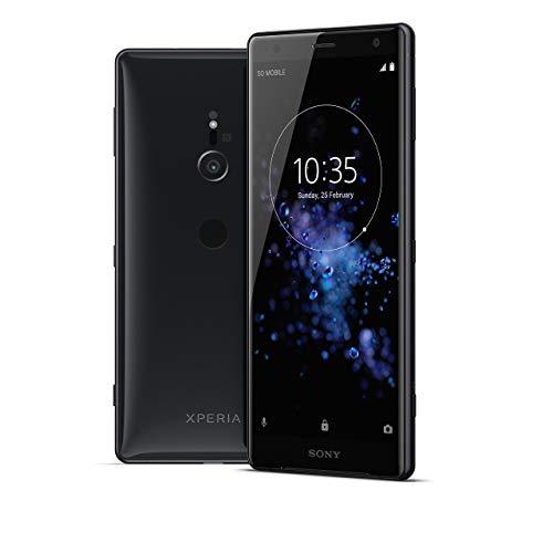 Sony Xperia XZ2 Unlocked Smarphone - Dual SIM - 5.7 in. Screen - 64GB - Liquid Black (Renewed) (Xperia Sony Cell Phone)