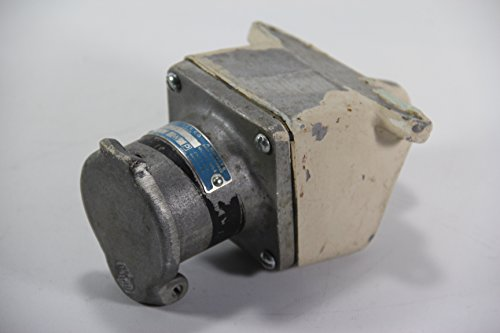 Crouse Hinds AR-341 Receptacle Housing with Back Box, 600VAC, 30A, M54
