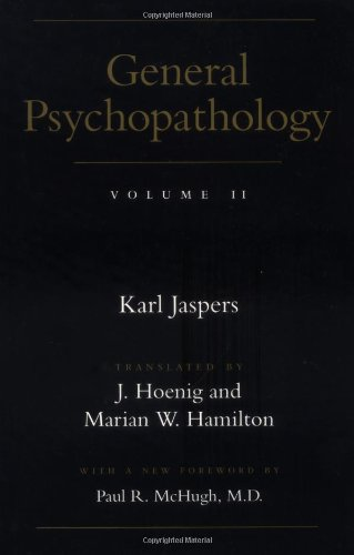 General Psychopathology Volume II