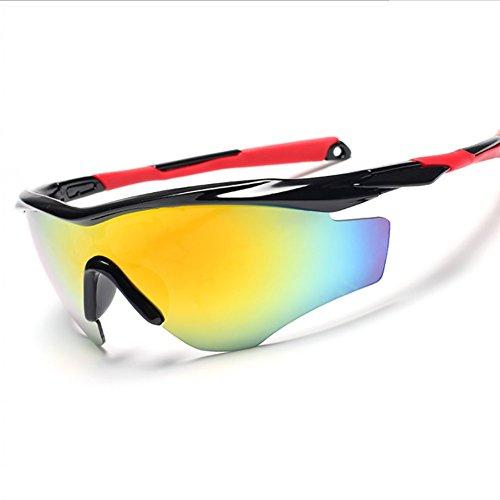 A Unisex Alpinismo Gafas Ciclismo UV Protección A para Pesca HECHEN Gafas Esquí Polarizadas Deportivas Uwq7P76