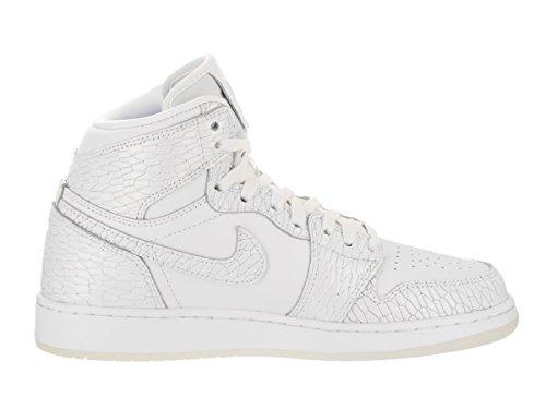 Jordan 832596 100 Jungen Bianco / Bianco Puro Platino