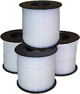 Semi-Transparent 15/' Length Fluorotherm Polymers 15 Length Fluorostore F015090-15 Metric PTFE Tubing 3 mm ID x 4 mm OD