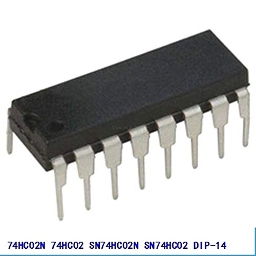 - 10pcs/lot 74HC02N 74HC02 SN74HC02N SN74HC02 DIP-14 Logic Gates Quad 2-Input NOR GATE