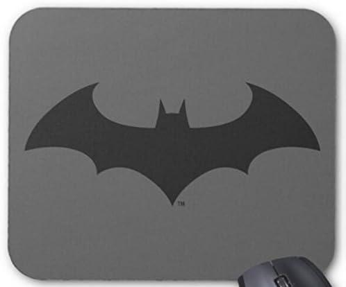 BGLKCS Batman Simple Bat Silhouette Logo Mouse Pad Computer Accessories Gaming Mouse Mat 11.8X9.8