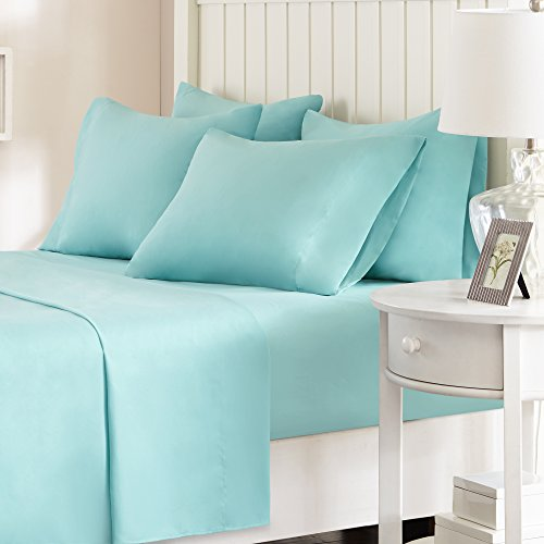 Comfort Spaces - Hypoallergenic Microfiber Sheet Set - 6 Pie