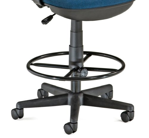 OFM Drafting Stool Kit in Black