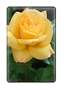 Ipad Mini/mini 2 Case Cover - Slim Fit Tpu Protector Shock Absorbent Case (rose Flowers)