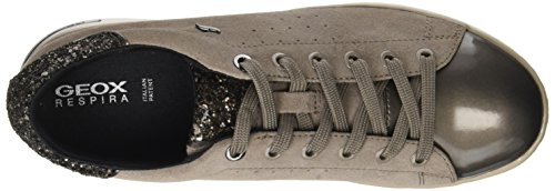 Femme mud taupe A Basses Jaysen Marron Geox Sneakers WHzIqI