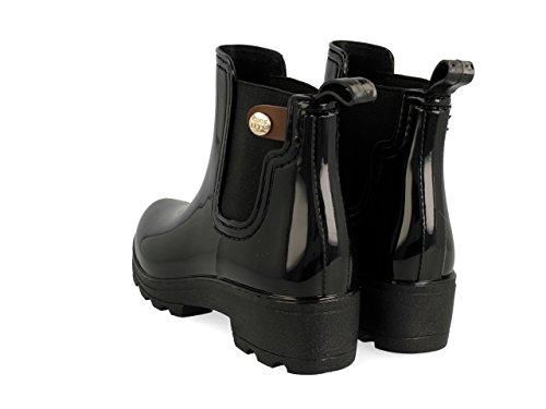 Gioseppo 30410, Botas de Agua para Mujer Negro (Black)