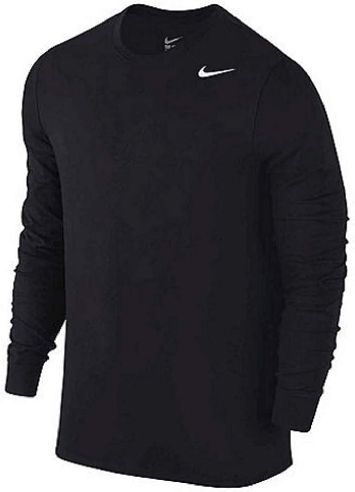 Nike Girls Dri Fit Long Sleeve Black