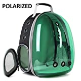 Cat Backpack Bubble, Space Capsule Cat Traveling Backpack Carrier, Camping and Hiking Outdoor Polarized Tinted Bag for Kitten, Airline Approved