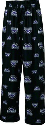 Colorado Rockies Youth Black Team Color Logo Printed Pants – DiZiSports Store