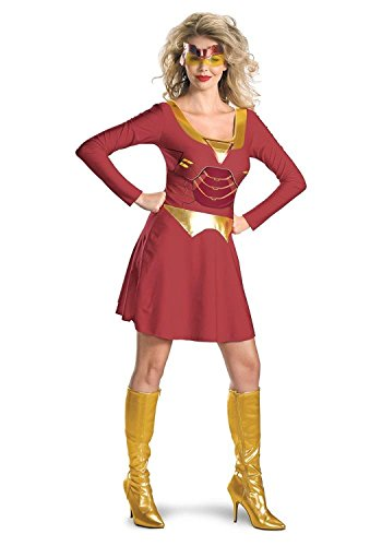 Iron Man Women Costumes (Iron Man Iron Woman Adult Costume Size 12-14 Large)