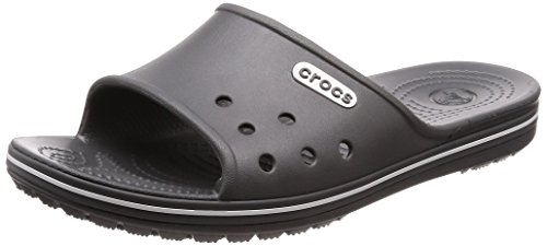 rocband 2 Slide Sandals, Grey (Slate Grey/White), US Men 9 Women 11 ()