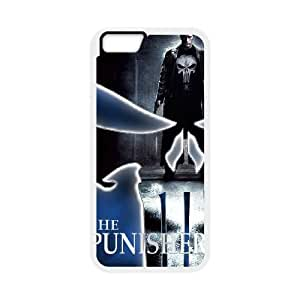 Protection Cover Wvyci iPhone 6s 4.7 Inch Cell Phone Case White The Punisher Personalized Durable Cases