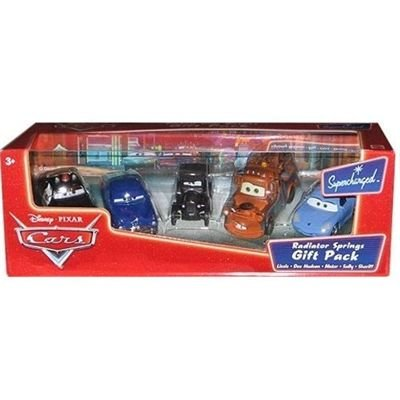 Disney Cars Radiator Springs Gift Pack Lizzie, Doc, Mater, Sally, Sheriff