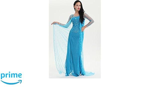 shoperama para Disfraz de Mujer Frozen Frozen Elsa - Modelo 2: Amazon.es: Juguetes y juegos