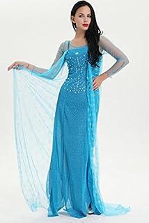 Shoperama - Costume di carnevale da Regina dei Ghiaci Elsa, modello 2 .