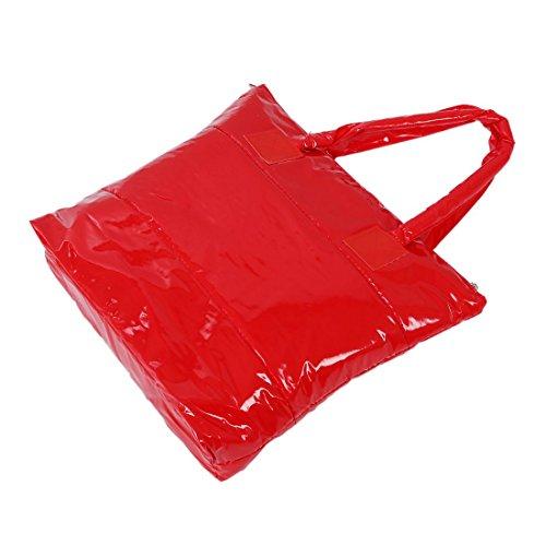 TOOGOO(R) Productos de venta caliente Bolso de algodon de moda de invierno de de color puro Bolso de hombro - Oro rojo