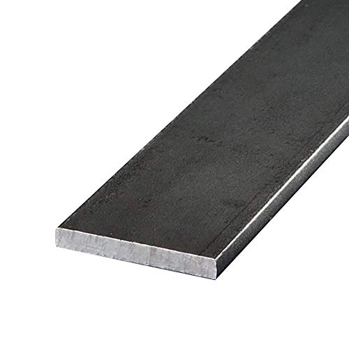 Online Metal Supply A36 Hot Rolled Rectangle Bar, 3/8'' x 2'' x 72'' (2 Pack) by Online Metal Supply