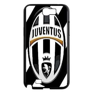 Samsung Galaxy Note 2 N7100 Phone Cases Black FC Juventus logo RSDF6113405