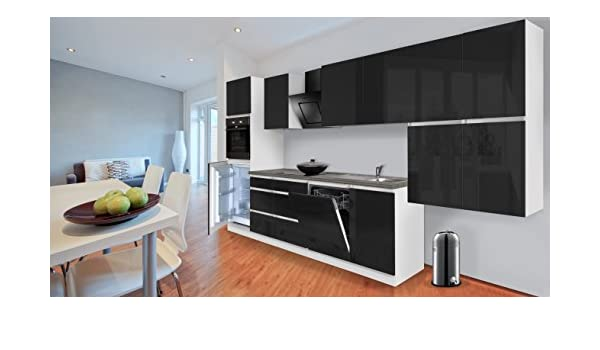 respekta Premium grifflose Cocina - Bloque de Cocina (380 cm ...