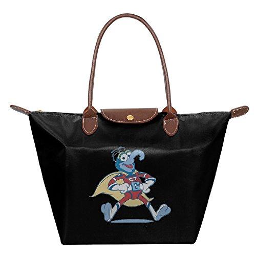 The Muppets Gonzo Superhero Costume Women's Shoulder Bags Casual Handbag Travel Bag Messenger Nylon Bags