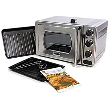 Amazon Com 22l Pressure Oven With Broil Rack Insert And