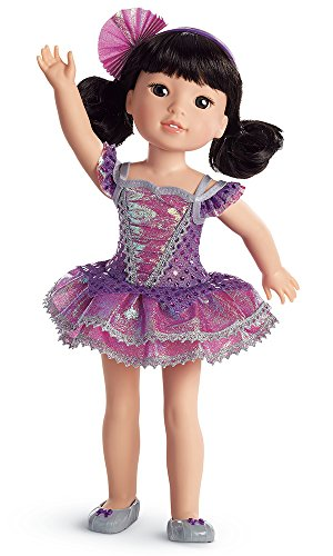 Nice American Girl WellieWishers Showtime Ballet Costume for Dolls
