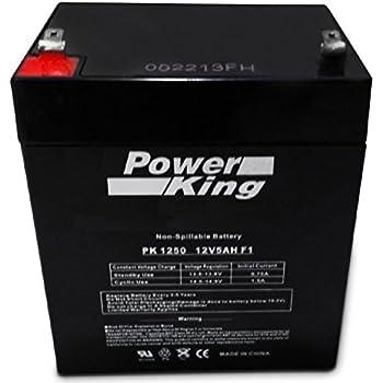 Amazon Com Sla5 12 Alarm Medical Or Genesis Battery 12