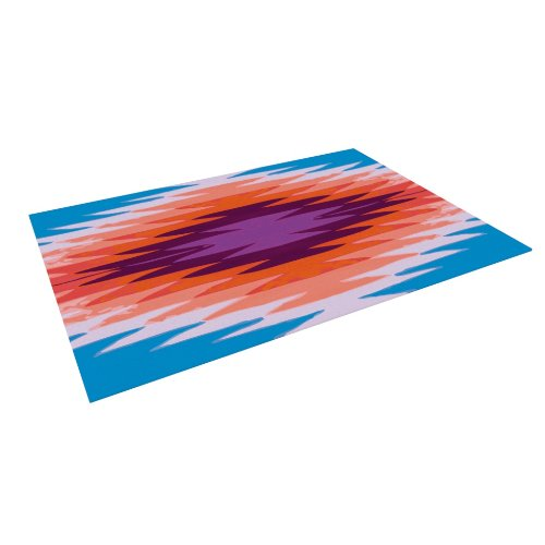 Kess InHouse Nika Martinez ''Surf Lovin Hawaii'' Indoor/Outdoor Floor Mat, 4-Feet by 5-Feet by Kess InHouse