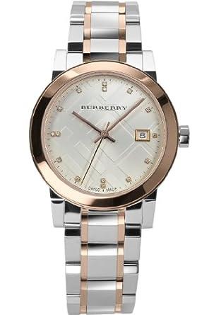 2ae66a61333 Burberry bu9127 - Montre Bracelet pour Femme  Amazon.fr  Montres