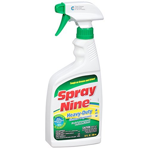 Spray Nine 26825-12PK Heavy Duty Cleaner/Degreaser and Disinfectant - 22 oz., (Pack of 12)