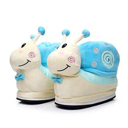 Fat Lumaca Pantofole Caldo Inverno Casa Scivoloso Di Rabbit Simpatiche Cotone rIvRqr1x