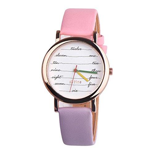 Watches for Women Fashion, 2018 New Casual Quartz Watch Electrocardiogram Analog Wrist Watches (B)