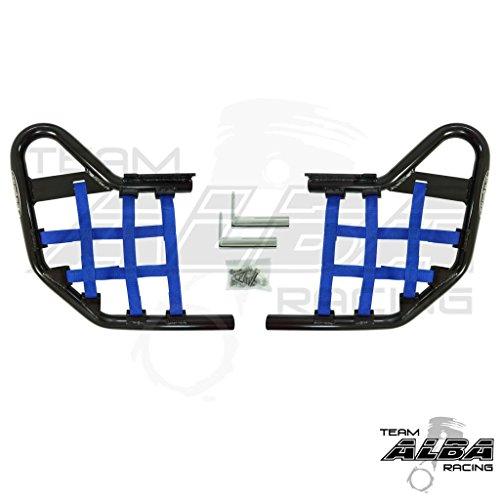 Yamaha YFZ 450 (2004-2009) (2012-2013) Standard Nerf Bars Black w/Blue Net
