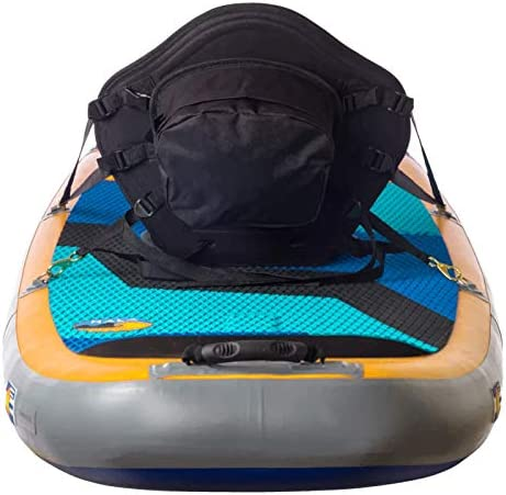 Seamander Kayak seat Canoe Seat with Detachable Back Storage Bag for Universal Sit