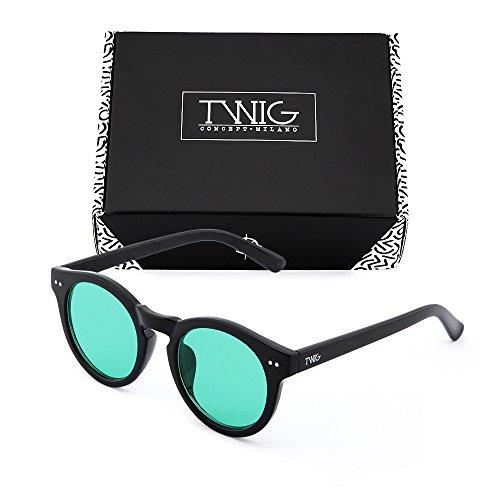 Gafas Verde TWIG sol espejo degradadas FRIDA de Negro mujer rx8q4nr