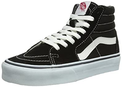 Vans Men's Sk8-Hi MTE Skate Shoe (4.5 D(M) US, (Classic)-black/white)