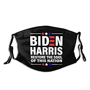 ZDZHWX Biden Harris 2020 Unisex Mask Reusable Adjustable Dustproof Face Protection Decoration Face Cover