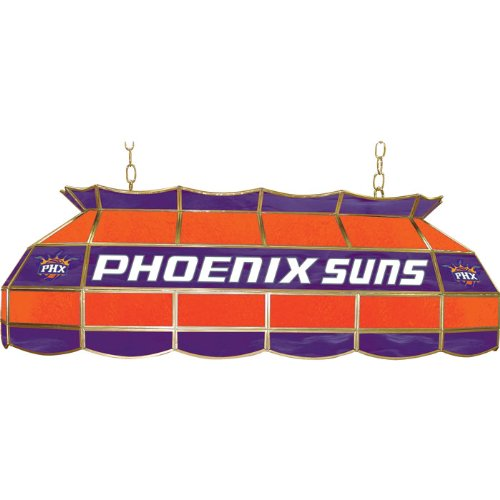 NBA Phoenix Suns Tiffany Gameroom Lamp, 40'' by Trademark Gameroom